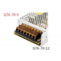 Quality Automatically Recovers Regulated Switching Power Supply 70W DC 5A Low Power Consumption for sale