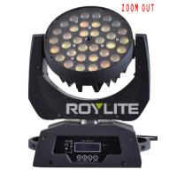 Quality 10w RGBW Multi Color Led Moving Head Wash Light With Zooming Beam Angle 10° -  60° for sale