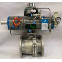 Quality 3 Way Pneumatic Ball valve,Three Stage Actuator Valve for sale