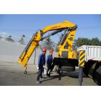 Buy Durable XCMG Folding Boom Truck Mounted Crane 10T For City Construction at wholesale prices
