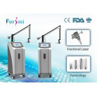Quality Vertical physiotherapy laser equipment CO2 fractional laser scar removal machine for sale