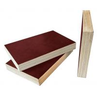 China Brown Film Faced Plywood 8 - 12% Moisture Content Easy Work International Quality on sale
