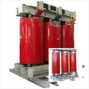 China Epoxy Resin Casting Step Down Transformer 6.6kV - 630kVA Low Loss Energy Saving on sale