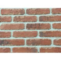 5D20-2 Custom Artificial Thin Veneer Brick Thickness 12mm With Turned Color