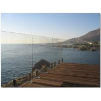 Buy cheap 1000 x 1170 MM Laminated Railing Glass For Deck  AS2208 Standard from Wholesalers