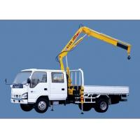 Quality XCMG SQ1ZK2 Knuckle Boom Truck Mounted Crane , 1400kg Wire Rope Raise for Sales for sale