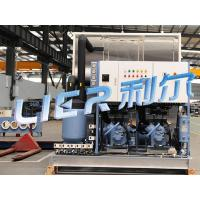 4000kg/Day Automatic Ice Block Machine , Block Ice Maker Special Design