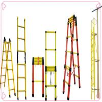 China Double Side Telescopic Ladder FRP GRP climbing ladder on sale