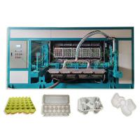 China Fully Automatic Recycle Paper Egg Tray Machine With SIEMENS Control on sale