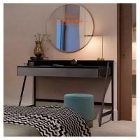 Quality Simple Dressing Tables With Mirror Glass Door / Wardrobe Hotel Furniture Set for sale