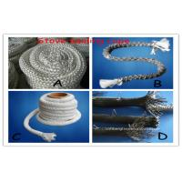 Quality High Temperature Fiberglass Sealing Rope With Stainless Steel Wire for sale
