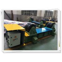 Quality Hydraulic Driven Fit Up Rotator Tank Turning Rolls With PU Wheel for sale