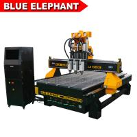 Quality Three Spindles CNC Machine Ele1325-3s Low Noise CNC Router Price for sale