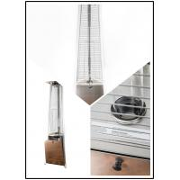 Quality Restaurant Floor Standing Outdoor Gas Patio Heater 450 - 870g / Hour Flux for sale
