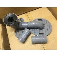 Buy Gray PVC Toilet Siphon Tube , Toilet Drain Fittings Washroom Appliance Connector at wholesale prices