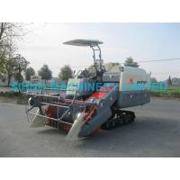 China SIHNO 4LZ-2.2Z Full Feed Rice Wheat Combine Harvester on sale