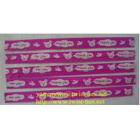 Quality gift/food paper wired twist ties for sale