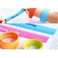 Quality Children silicone slap bands , custom silicone slap bracelets for sale
