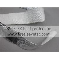 Quality high temperature protection aluminum fiberglass tape for sale