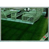 China PE Yarn Commercial Outdoor Artificial Grass Non - infill Need For Outdoor Landscape on sale