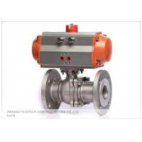 Quality Stainless Steel Flanged Pneumatic Actuator Valve Control For Industrial Use for sale