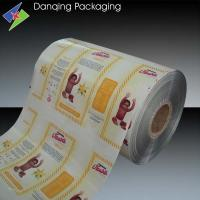 Quality Aluminium Printed Packaging Film , Opaque Milk Packaging Roll Film for sale