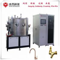 Stainless Steel Faucets PVD TiN Gold Coating Machine,  ZrN Zirconium Nitride Gold PVD Coating on Faucets