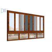 Quality Easy Installment cheap aluminium sliding windows With Double Glazed Tempered Glass for sale