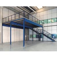 Quality Durable Storage Industrial Mezzanine Systems Custom Size Powder Coating Surface for sale