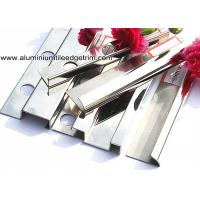 Quality Popular Type 10mm Stainless Steel Bullnose Corner Tile Trim With Square Edge for sale