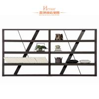 Quality Modern Commercial Hotel Furniture / Wooden Bookcase With 4 Tiers for sale