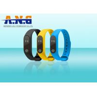 Quality Sport Smart Silicone Rfid Wristbands Bracelet Motion Planning Mileage Record for sale