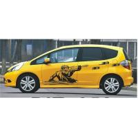 Quality UV printing Auto Body Decals Self Adhesive Wall Decoration Stickers for sale