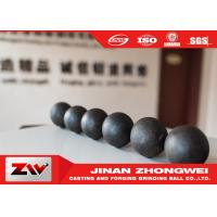Buy cheap High Hardness Forged And Cast Grinding Balls For Copper And Gold Mining from wholesalers