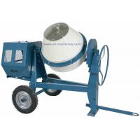 China Diesel Electric Motor/Gasoline Portable Mini Concrete Mixer with 260L Charging Capacity on sale
