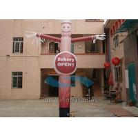 China Waterproof Adertising Sky Inflatable Tube Guy , Inflatable Arm Flailing Tube Man on sale