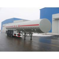 Quality 43000L-3 Axles-Carbon Steel Monoblock Tanker Semi-Trailer for Fuel and Water for sale