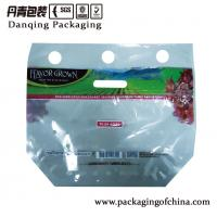Quality Bopp Laminated Fruit Packaging Bags , Printed Fruit Vent Bag With Zipper for sale