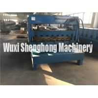 Quality Developed Hydraulic Cutting Tile Roll Forming Machine Anti Rust Roller for sale