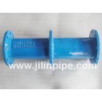 Buy cheap ductile iron pipe fittings, double flanged pipe with puddle flange from wholesalers