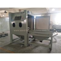 Buy Turntable Dry Manual Blasting Machine 1200*1200*1950mm Dimension at wholesale prices