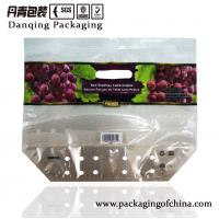 Quality Translucent Fruit Packaging Bags Fruit And Vegetable Packaging Plastic With Handle for sale
