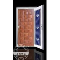 China Craft Armored Steel Wood Door SHY-003 on sale