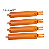 Buy cheap Double Acting 4 Stage Garbage Truck Sanitation Station Hydraulic Cylinders from wholesalers
