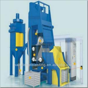 China QR3210 tumble belt type abrasive blasting machine/abrasive blasting equipment on sale