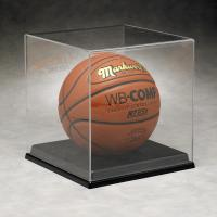 Quality Basketball Acrylic Display Stand Case For Sport Equipment Advertising for sale