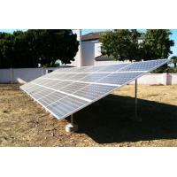 Buy Metal roof & ground Solar Panel Mounting System Anodized aluminum Material at wholesale prices