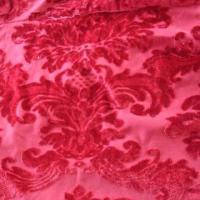 Quality Jacquard velvet fabric, made of 100% polyester for sale