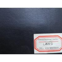 China Black Color PU Garment Leather Fabric Genuine Leather Handfeeling for Garment, Bag on sale
