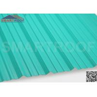 Quality Industrial Corrugated Plastic Roofing In 27MM Pitch Height With 1.36M Length for sale
